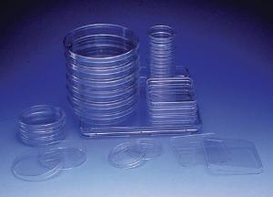 Petri dishes, disposable, square, Nunc™ Lab-Tek™
