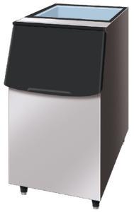 Ice storage bin
