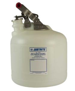 Safety containers for corrosives/acids