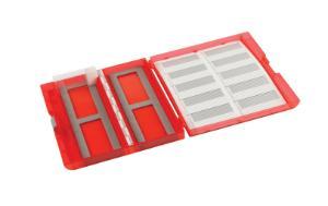 VWR® premium plus slide box, red