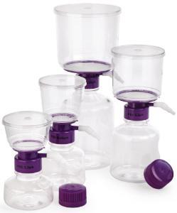 瓶口真空过滤系统, PVDF, SFCA, 尼龙