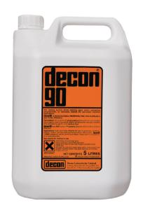Surface active cleaning agent, decon® 90
