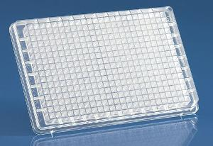 384-well (HTS) microplates for cell culture, BRANDplates®