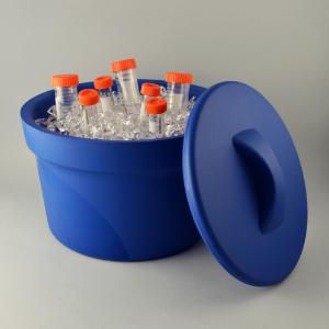 Ice buckets, round, with lid, Magic Touch 2™, SP Bel-Art
