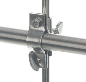 Mounting/reducer clips for tubes