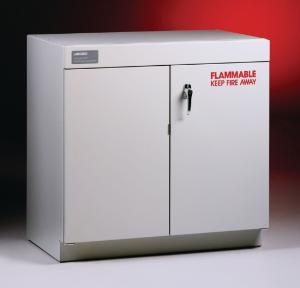 Solvent Cabinet with Self-Closing Doors, includes Shelf