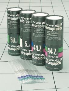 Micro pipettes, disposable