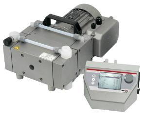 MPC 601 t ef chemical duty diaphragm vacuum pump