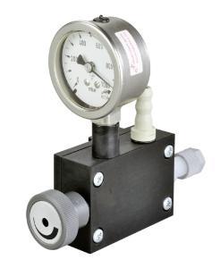 Vacuum regulator with dial gauge dbr-p