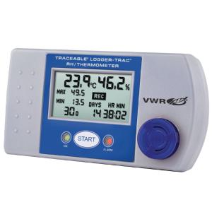 Temperature and humidity logger, Traceable®, logger trac